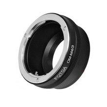 FOTGA Anello Adattatore per Olympus OM lente per Panasonic Micro 4/3 m4/3 E PL7 OM D GH4 GX7 G5 G7