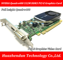 DEBROGLIE 1PCS Brand New Full height NVIDIA  Quadro400  512M  DDR3  PCI-E  ATX  Q400 Graphics Video Card
