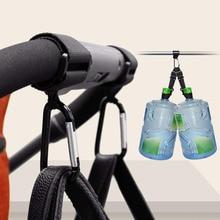 2pcs Baby Stroller Hooks Shopping Pram Hook Props Hanger Metal Convenient Hook Carabiner Baby Car Carriage Hook Accessories