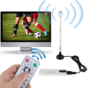 Image 5 - Kebidumei USB DVB T/DVB T2 TV Stick odbiornik tunera DVB T/C/T2 + FM + DAB HDTV cyfrowy antena satelitarna odbiornik DVB T DVBT2 DVB C