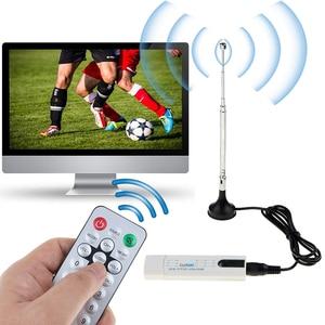 Image 5 - Kebidumei USBทีวีดิจิตอลDVB T2 USB TV Stick Tuner HD TVเครื่องรับสัญญาณเสาอากาศระยะไกลสำหรับDVB T2/DVB C/FM/DAB