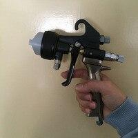 SAT1205 air распылителя краски Совет сжатого воздуха для живопись высокого давления пистолет для распыления краски воздушный шланг двойной соп