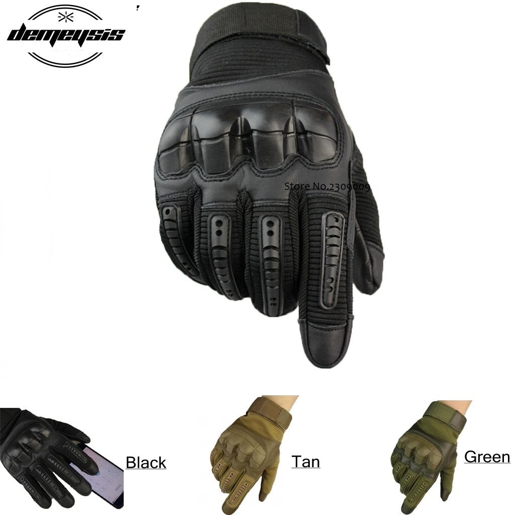 Tactical Outdoor Full Finger Gloves Military Tactical Airsoft Hunting Shooting