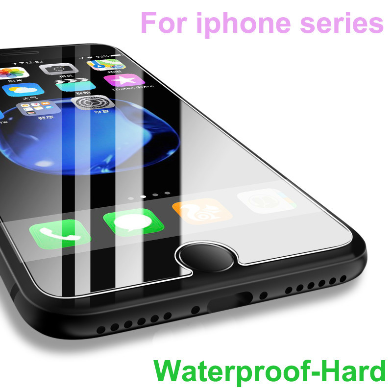 Tempered glass for iPhone x 8 7 6 6s plus screen Protector for i Phone 7 4 4s 5 5s se 6 6s 7 8 10 7plus 8plus 9H Protective film