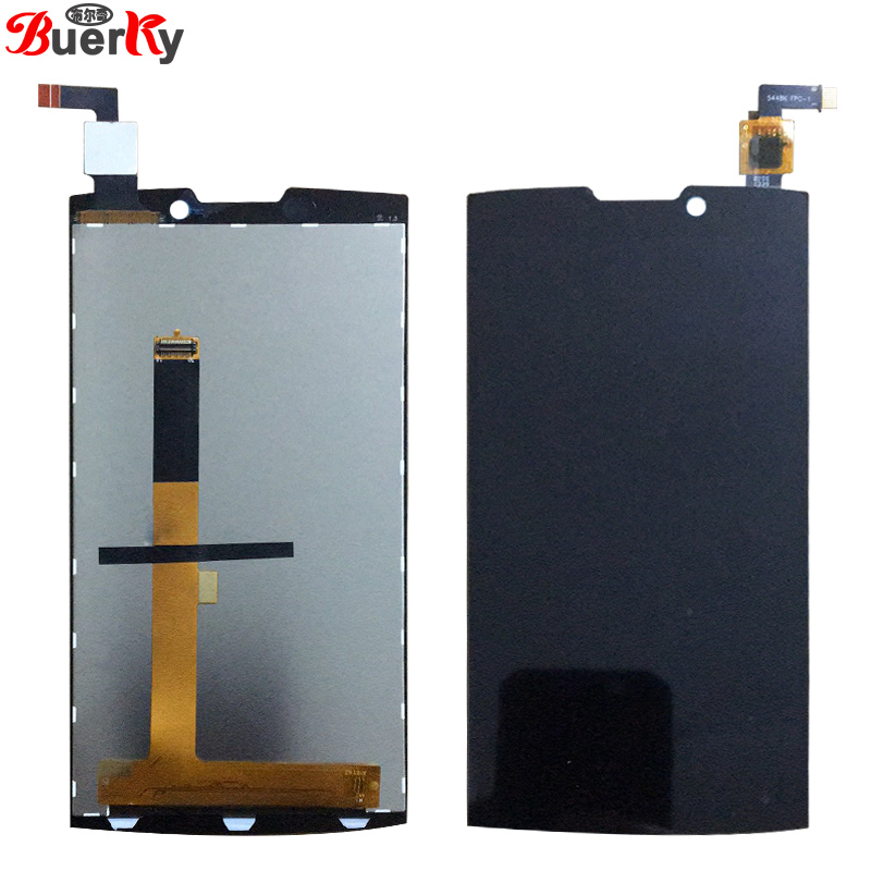 BKparts 100% Testé Pour Highscreen Boost 2 SE 9267 9169 LCD Full Screen Display Tactile En Verre Digitizer Assemblée Complet