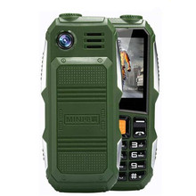 Big Battery 3800mAh Phone Dual Sim GSM Dustproof Shockproof Cell Phone Big Torch Speaker Senior Elder Mobile Phone SOS