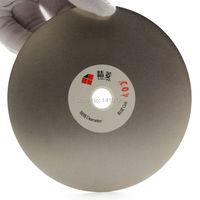 5 Inch 125mm Grit 400 Medium Electroplated Diamond Coated Flat Lap Disk Grinding Polishing Wheel Lapidary