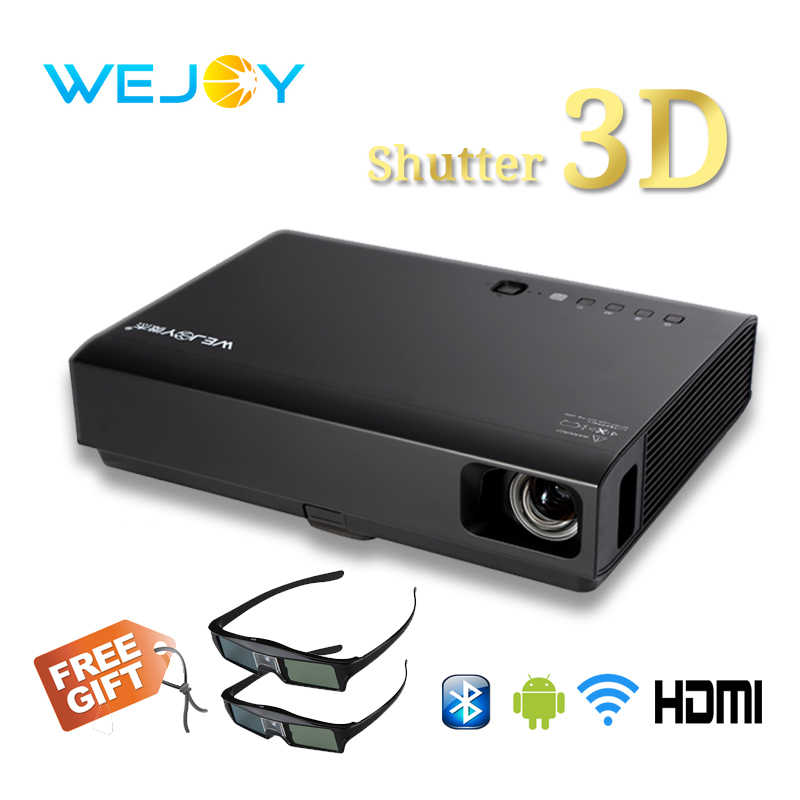Wejoy 3D laserowy projektor led DL-310 Android Full HD 1080P wideo do kina domowego DLP 4k tv лазерный проектор домашенео кинотеатра