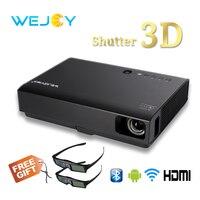 Wejoy 3D Laser LED Projector DL 310 Android Full HD 1080P Video For Home Cinema DLP 4k tv лазерный проектор домашнего кинотеатра