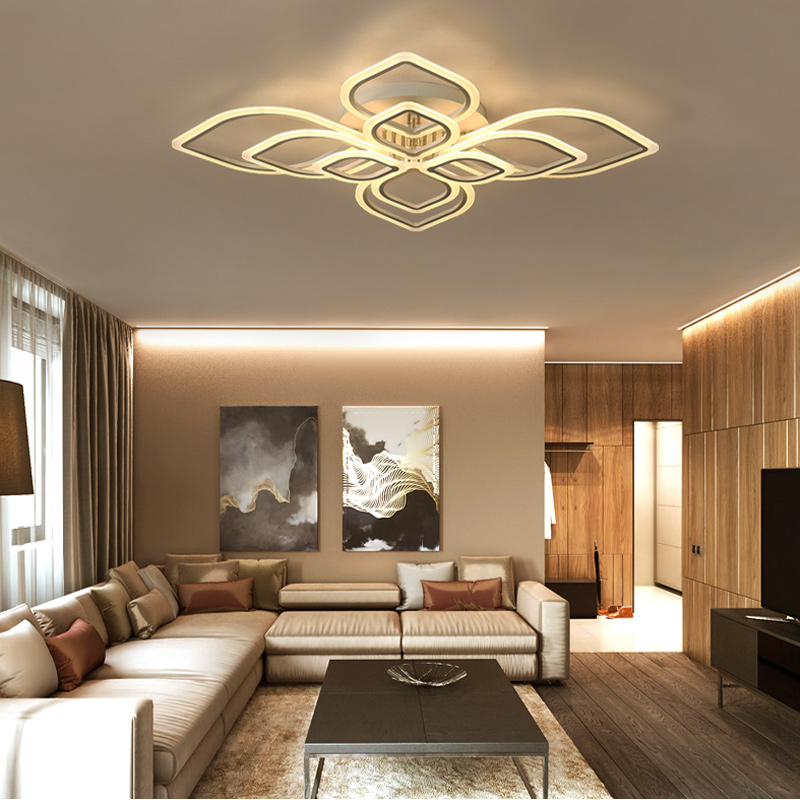 LED Modern living room ceiling lamps simple Novelty Acrylic ceiling lights creative bedroom fixtures diningroom ceiling lightingLED Modern living room ceiling lamps simple Novelty Acrylic ceiling lights creative bedroom fixtures diningroom ceiling lighting