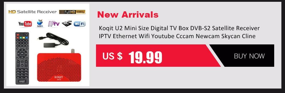 Koqit K1 Mini Digital TV Box DVB S2 HD Receptor Satellite