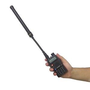 Original NagoyaGooseneck High Gain Tube Foldable CS Tactical antenna for Baofeng uv-5r uv 82 yaesu accessories walkie talkie