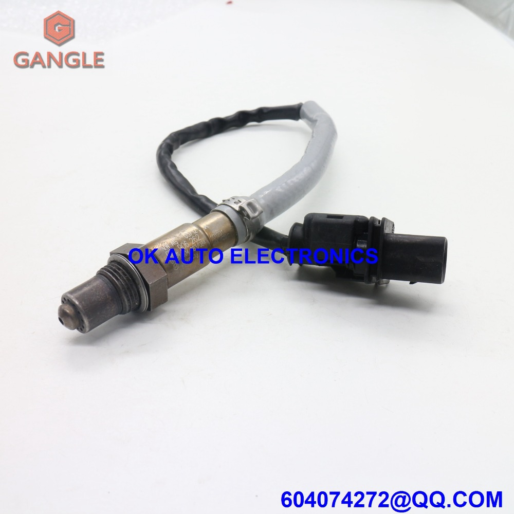 Oxygen Sensor Lambda AIR FUEL RATIO SENSOR for Audi A4 A5 A6 Q5 Seat Exeo 03L906262 0281004083 0281004084 oxygen sensor lambda air fuel ratio for mini bmw 5 6 7 series ls17187 757667301 7576673 11787576673 0258017172 0258017187