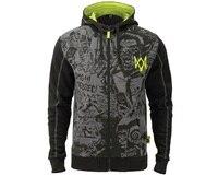 Game Watch Dogs 2 DedSec 100% Cotton Sweatshirts Men's Hoodies Long Sleeve Jackets Cosplay Costume Halloween Christmas Gift