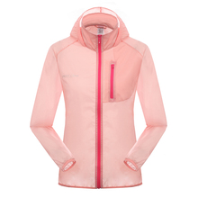 6 colors Sun Protection Anti-uv Sport Outdoor Jacket Women Summer Hiking Camping Chaquetas Mujer Female Quick Dry Cycling Coat