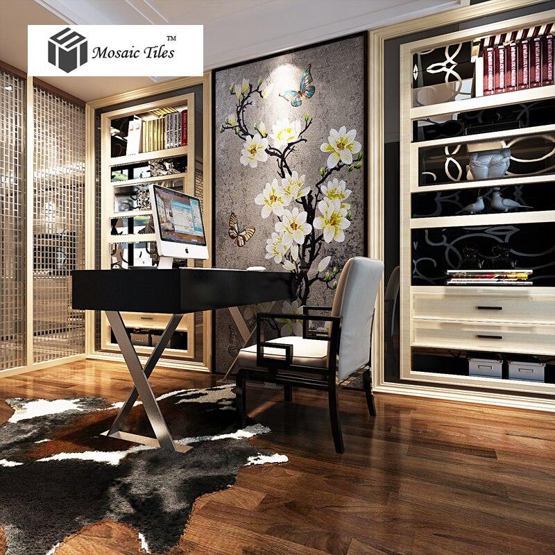 Telha bisazza mosaicos artesanais mão floral personalizado para sala de estar cozinha banheiro backsplash deco parede.jpg