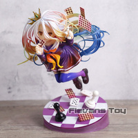 Shiro NO GAME NO LIFE GAME LIFE White 3 Generation Poker 1/8 Scale PVC Figure Collectible Figurines Toy