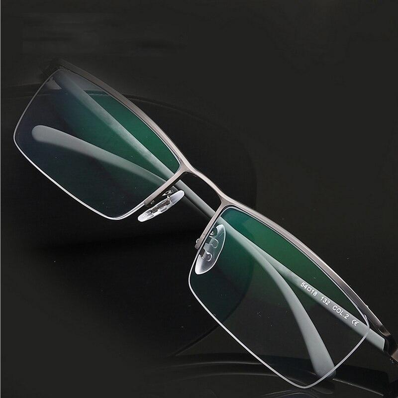 2017 Fashion Titanium Rimless Eyeglasses Frame Brand