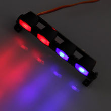 1:10 Model Colorful LED Light For RC 1/101/8 Car Ax-505rb Red and blue Police Lenses Mult-Funct Accessories