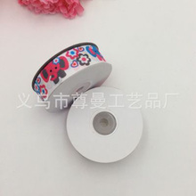 DIY Webbing Ribbon 2.5CM Wide Digital Printing Thermal Transfer Whorl Clothing Accessories Decorative Cartoon Series