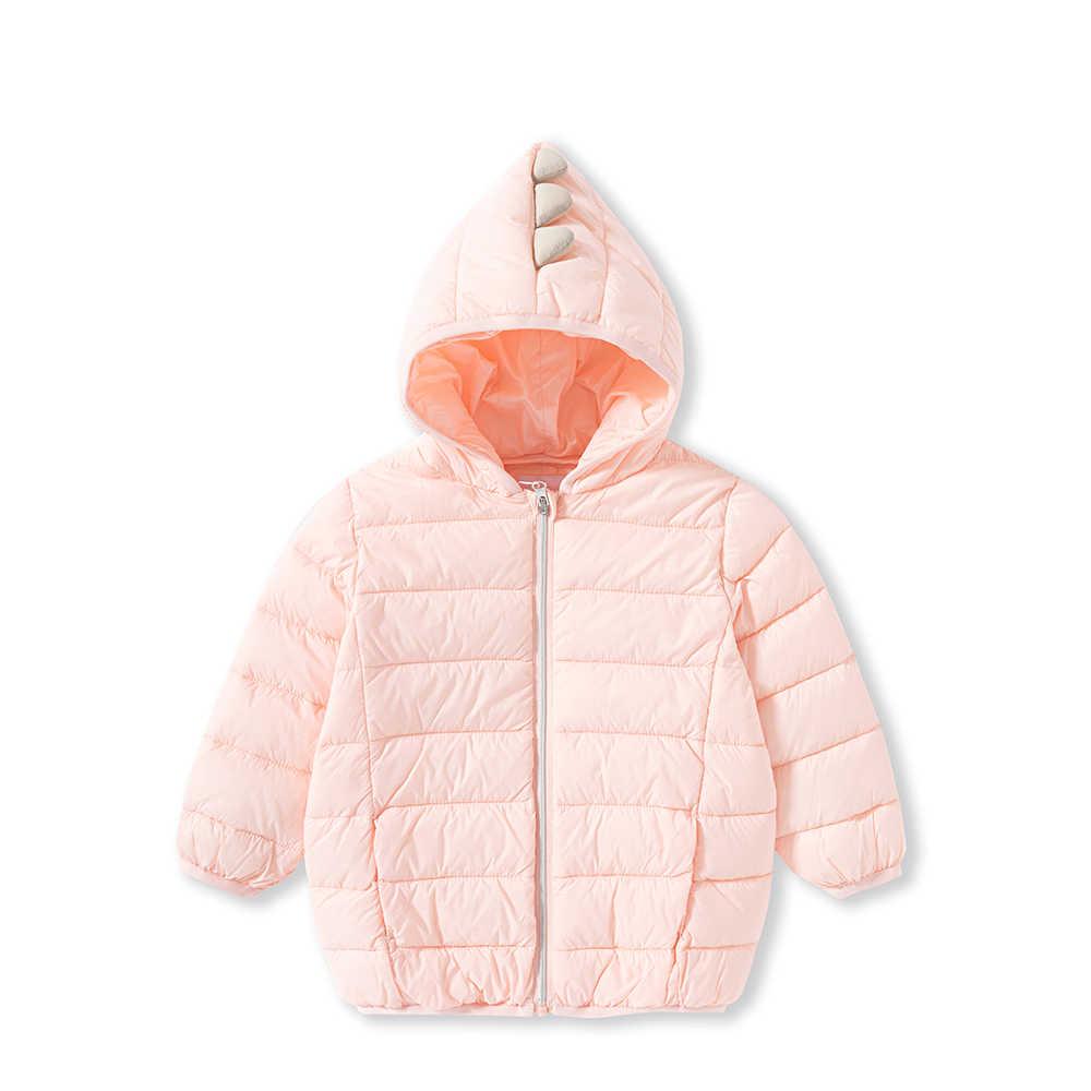 Balabala ילדים חורף למטה מעיל עבור תינוקת חדש מותג אופנה מוצק ברדס יוניסקס תינוק מעילי ילדים למטה חם