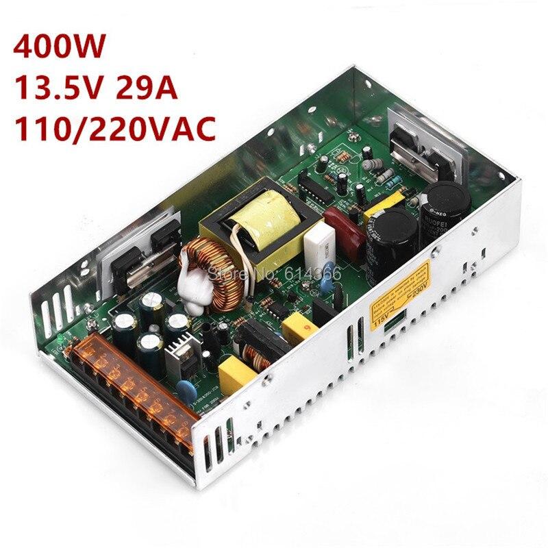 1PCS13。 5V 29A 400 ワットスイッチング電源 13.8 パワー · ドライバ cctv カメラ用 LED ストリップ AC DC 100  240V DC13.5V  グループ上の 家のリフォーム からの スイッチ 電力供給 の中 1