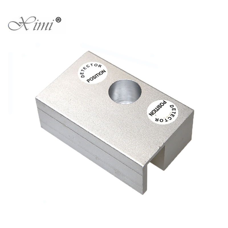Mini Aluminium Alloy U Bracket For Bolt Lock Electric Lock U Bracket For Frameless Glass Door Lock