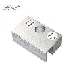 Mini wspornik ze stopu Aluminium U na rygiel zamek elektryczny U uchwyt na bezramowe szklane drzwi w Zamki elektryczne od Bezpieczeństwo i ochrona na