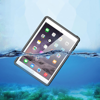 Waterproof Case for iPad Mini4 IP68 Thin Transparent Water Proof Shockproof Cover for iPad Mini 4 Outdoor Diving Swimming Coque