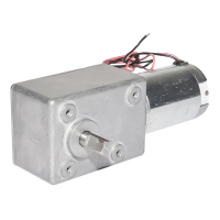DIY 12V PMDC Worm Gear Motors Low Speed 55RPM Gearmotor Metal GearBox 12v dc motor high torque