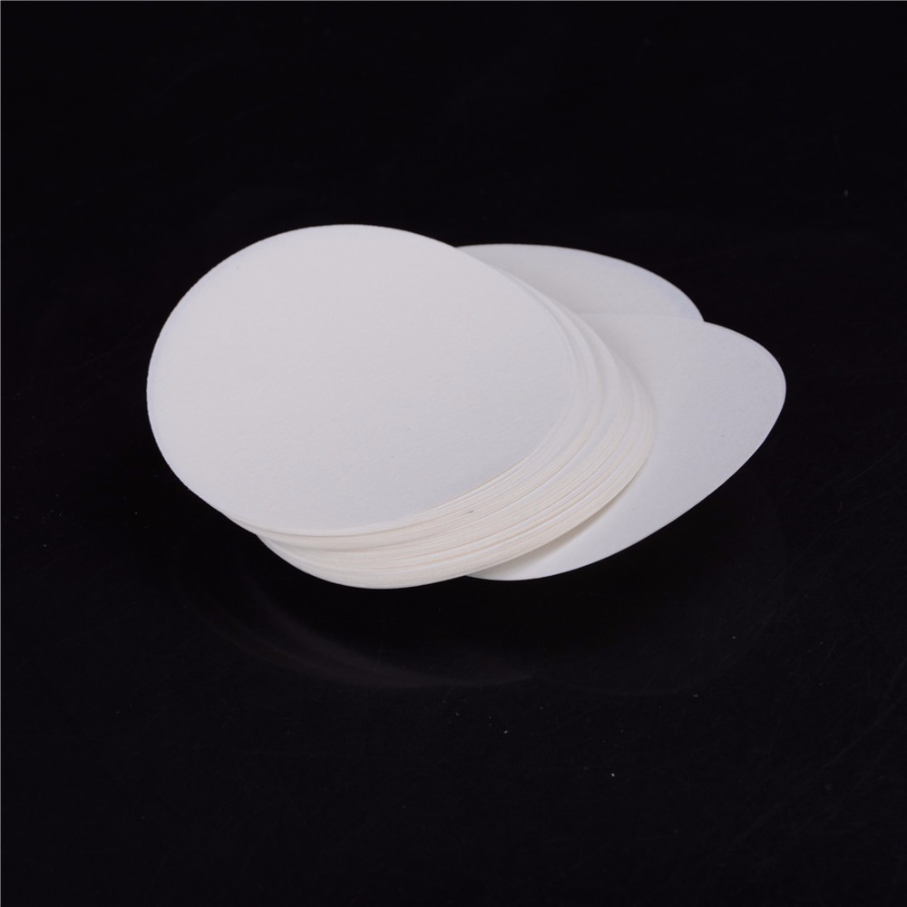 Wholesale 100PCS/bag Laboratory Filter Paper Circular Qualitative Filter Paper Medium Speed Funnel Filter Paper Diameter:9cm