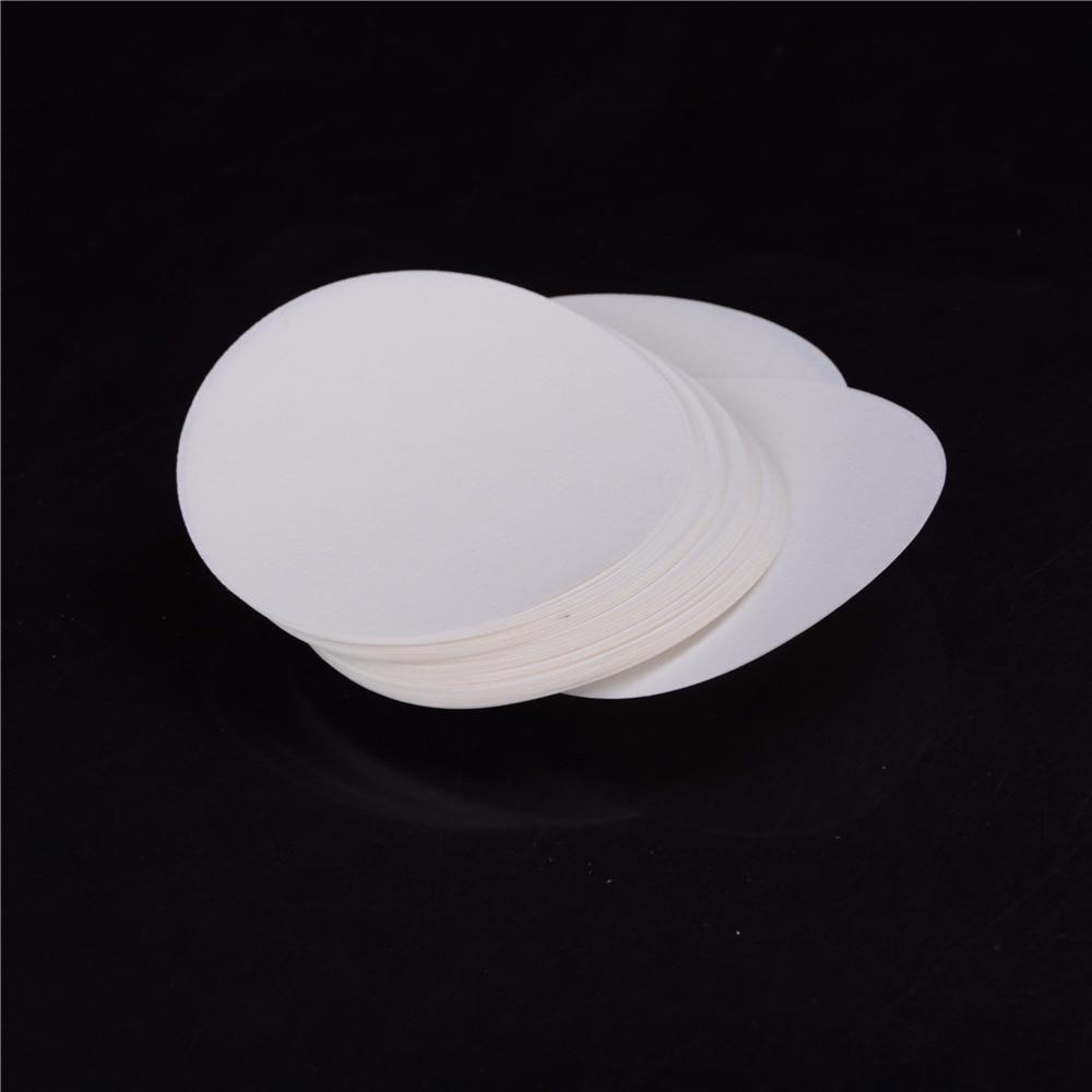 Wholesale 100PCS/bag Laboratory Filter Paper Circular Qualitative Filter Paper Medium Speed Funnel Filter Paper Diameter:9cm