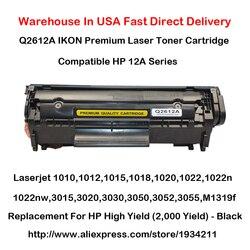 Cartouche de Toner série Q2612A 12A pour Laserjet 1010,1012, 1015,1018, 1020,1022, 1022n, 1022nw, 3015,3020, 3030,3050, 3052,3055, M1319f