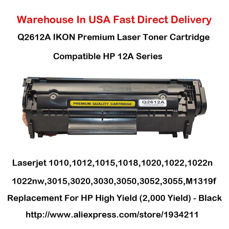 Q2612A 12A Series Toner Cartridge For HP 1010 1012 1015 1018 1020 1022 1022n 1022nw 3015