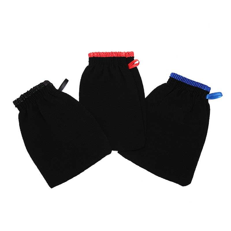 3 Kiểu Tắm Chà Tắm Tẩy Tế Bào Chết Găng Tay Toàn Thân Găng Tay Tẩy Tb Chết Cho Nam Nữ Rửa Da Spa khăn