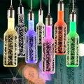Hot bubble chandelier restaurant chandelier crystal chandelier led bottle lamp creative chandeliers Bar SPD-01