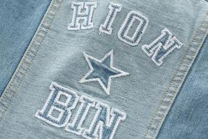 Image 5 - Boys Jacket kids Denim coat Children Outerwear girl clothing Spring Autumn boy hooded Jeans Clothes broken hole For 2 7T