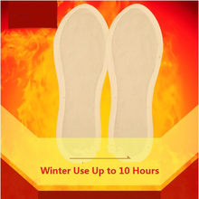 1 Pair Hot Winter Warmer Unisex Foot heating pad Self-heating Insoles Warm Heating Insoles Warm Foot Heater Pad Shoes Boot Pad(China)