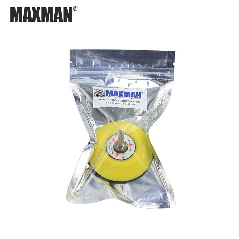 MAXMAN elektromos daráló tartozékok 2 hüvelyk 3 hüvelyk - Csiszolószerszámok - Fénykép 6
