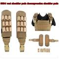 military army tactical gear attachment 6094 vest decompression shoulder pads 1000D nylon Water-resistant wear-resistant quick-dr