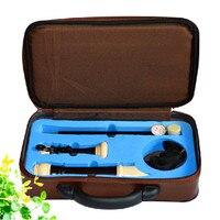 Qimei бренд Профессиональный 8 отверстий барокко тенор Пластик Регистраторы Ключ C Кларнет музыкальный инструмент английском стиле Флейта