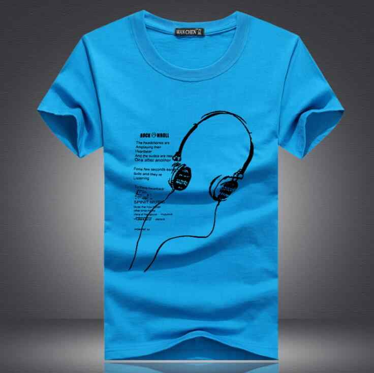 Été hommes T-Shirts 2019 nouvelle grande taille 5XL t-shirt vêtements pour hommes Tee hauts à manches courtes casque o-cou bande dessinée impression