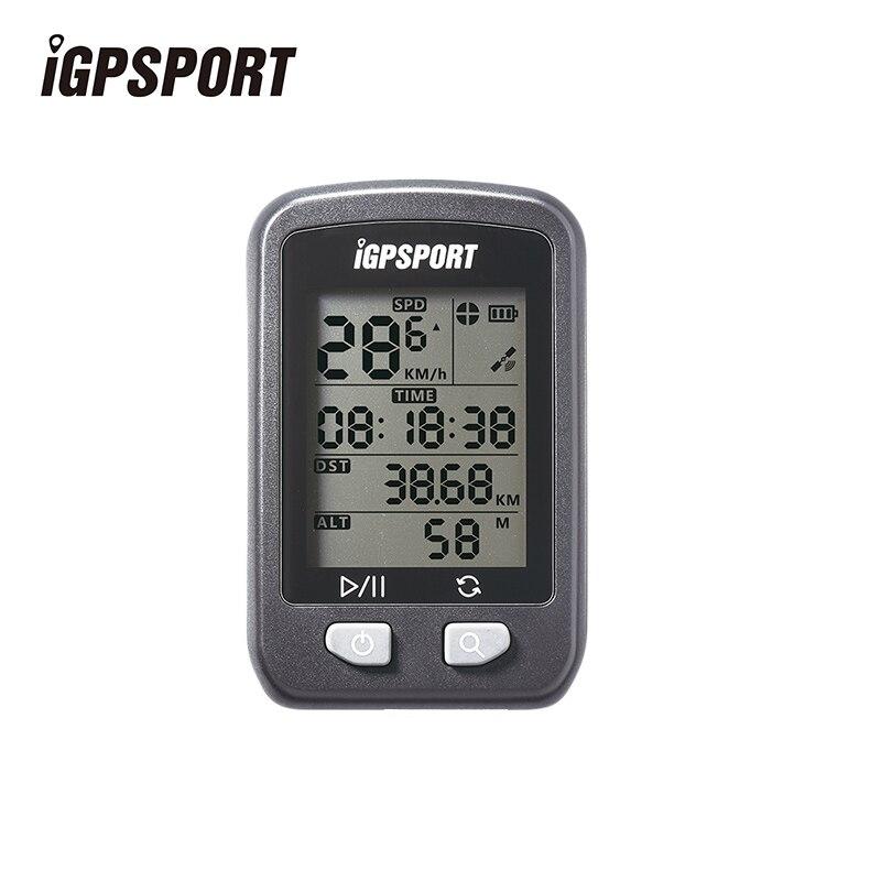 Цена за IGPSPORT Беспроводной Секундомер Велосипед Аксессуары Беспроводная Компьютерная IPX6 Непромокаемые Велоспорт Спидометр Цифровой Компьютер для Велосипеда