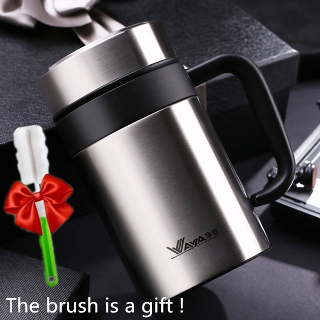 ONEDAY 420ml Thermo Mug Thermal Cup 304Stainless Steel Coffee Mug With filter Water Cup For Tea