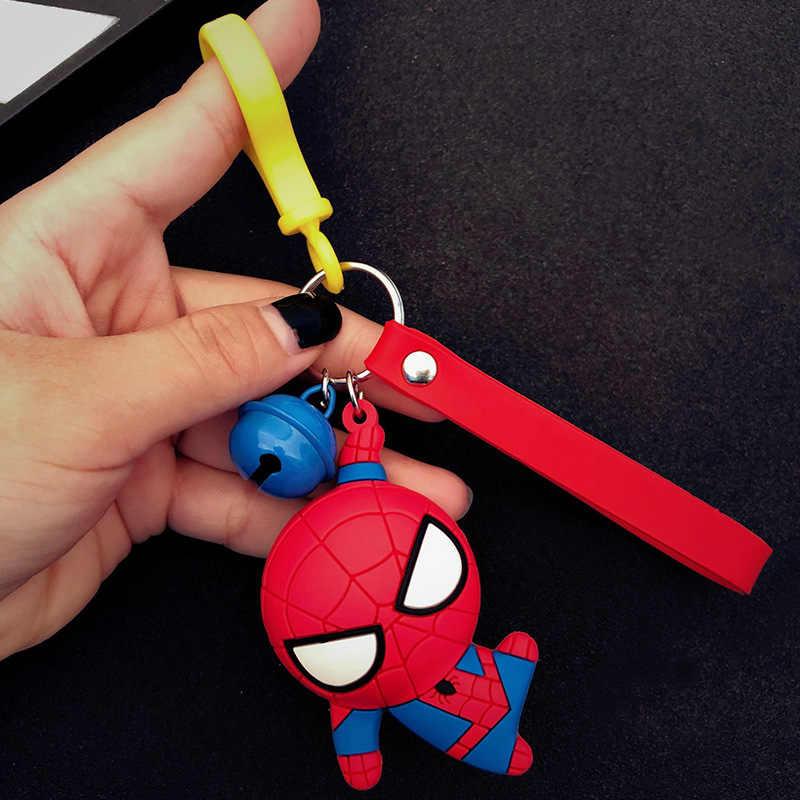 Модный фильм Человек-паук брелок Hero Homecoming автомобильный брелок Подвеска Человек-паук брелки игрушки женские мужские ювелирные изделия