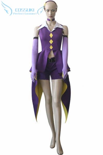 Newest High Quality Shugo Chara! Dark Jewel Uniform Cosplay Costume ,Perfect Custom For You ! shugo chara 2