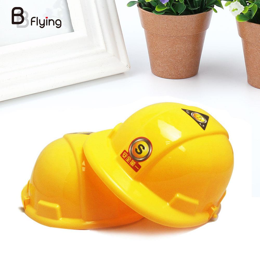 Kids Simulation Helmet Pretend Role Playing Construction Educational Creative