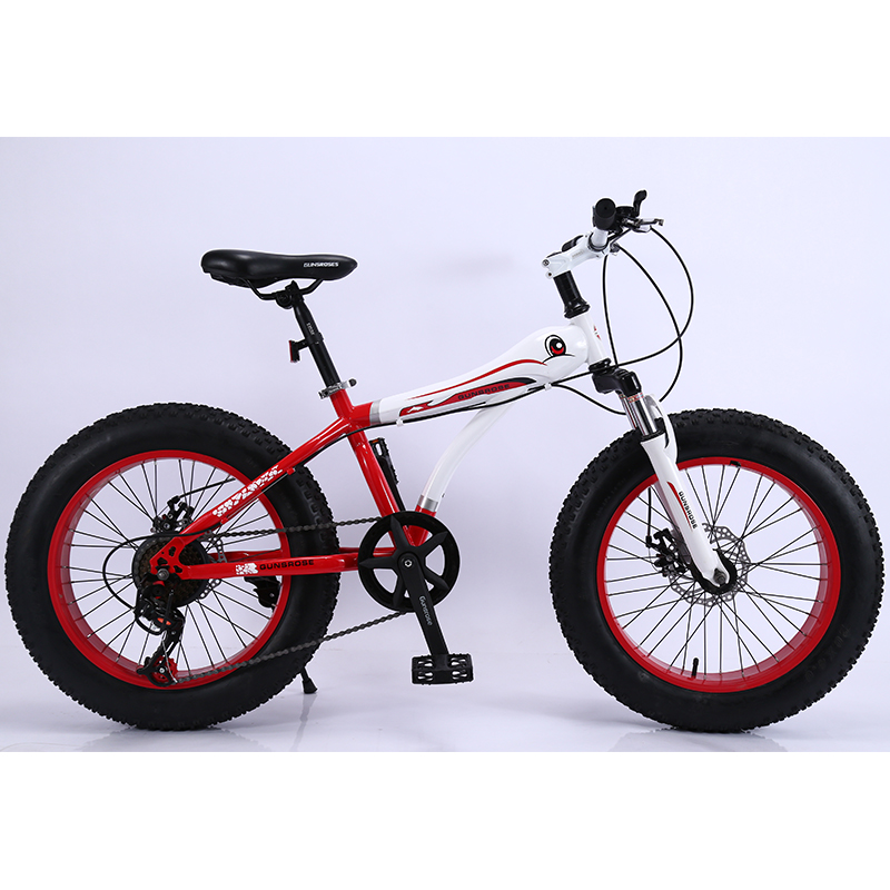 KUBEEN mountain bike 21 speed 2.0 inch bicycle Road bike Fat Bike Mechanical Disc Brake Women and children bicyclesKUBEEN mountain bike 21 speed 2.0 inch bicycle Road bike Fat Bike Mechanical Disc Brake Women and children bicycles