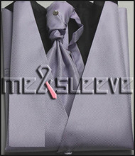 Youngs Formal Wear waistcoat(vest+ascot tie+cufflinks+handkerchief)