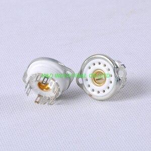 Image 2 - 4 pcs 13pin douille de Tube en céramique pour Nixie Valve pour 13pin B5092 GN4 B13B ZM1020 pièces damplificateur de Tube